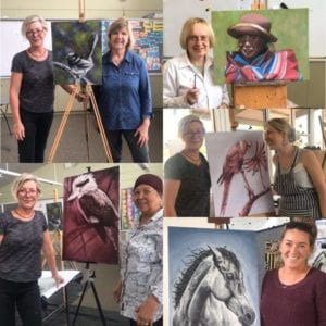 Oil painting techniques - Albany Summer School 2020